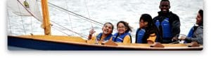 Using boat building and sailing to develop self confidence and life skills among kids in the South Bronx, New York, USA.