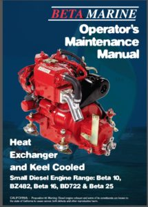 Beta Marine 10 hp Engine Manual