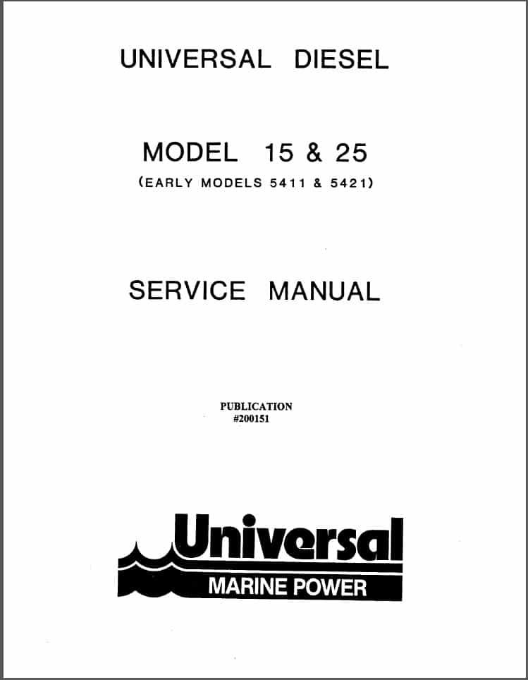 universal diesel engine 15 service manual marine diesel basics rh marinedieselbasics com marine power 5.7 service manual marine power engine service manual