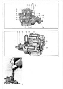 Albin Diesel Engine AD2 Workshop manual