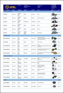 Avel Marine Water Pumps Catalog