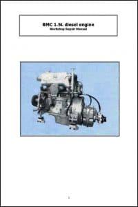 BMC 1.5L Diesel Engine Workshop Repair Manual