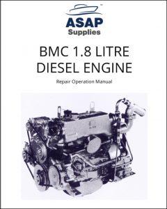 BMC 1.8 L diesel engine Repair Operation Manual
