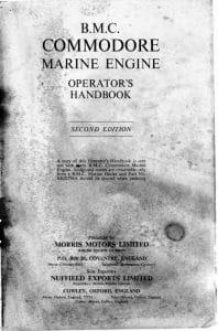 BMC Diesel Engine Commodore Operators Handbook