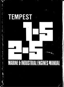 BMC diesel engine Tempest 1-5 Manual
