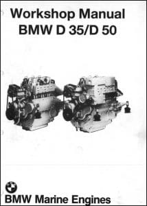 BMW Marine diesel Engine D35 Workshop Manual