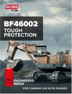 Baldwin BF46002 Fuel Filter Brochure