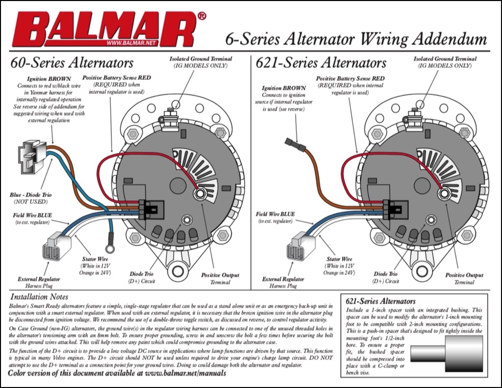 Isolated ground alternator wiring diagram free picture