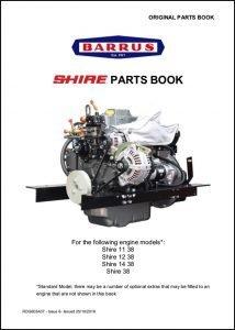 Barrus Shire 11-38 Parts Book