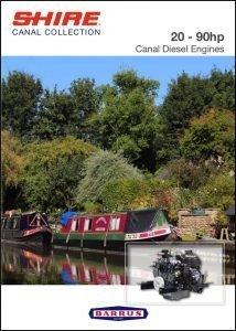 Barrus Canal Diesel Engines Shire Range Brochure