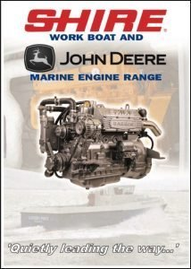 Barrus Shire Work Boat diesel engine Catalogue