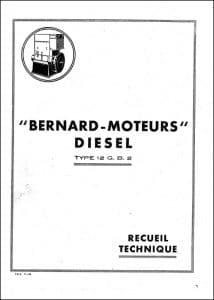 Bernard 12GB2 Recueil Technique