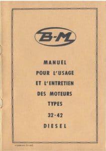 Bernard 32 et 42 moteurs diesel Manuel