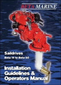 Beta Saildrive SeaProp 60 Installation Guidelines