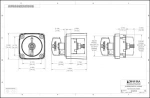 Blue Sea M Series Locking Switch Drawing 3/3
