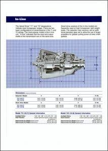 Borg Warner 71C marine transmission Brochure