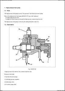 Bosch CP1 diesel Injection Pump Guide
