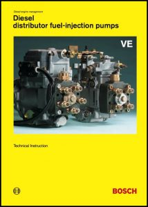 cover of Bosch VE Pumps Technical Instruction Manual