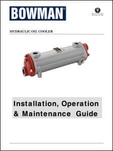 Bowman Hydraulic Oil Cooler Manual