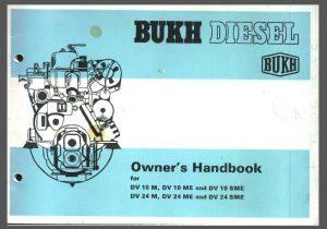 Bukh 10 hp Engine Manual