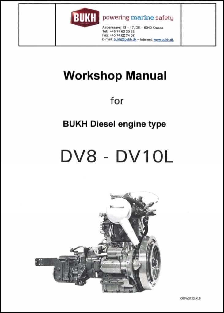 Bukh DV 8-10L ME diesel engine Workshop manual