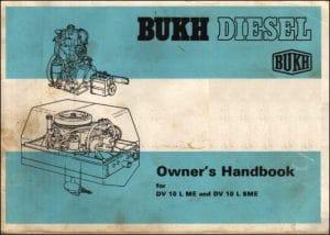 Bukh DV10 LME Marine Diesel Engine Owners Handbook
