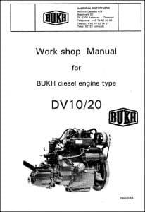 Bukh DV10 Marine Diesel Engine Workshop Manual