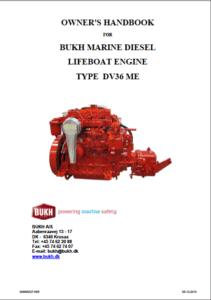 Bukh diesel engine DV36ME Owners Manual