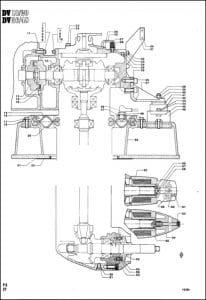 Bukh Saildrive DV10 Drawings