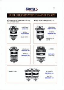 CAV Diesel Fuel Filters Catalog