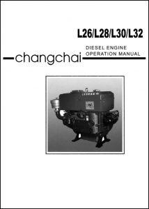 ChangChai L26 diesel engine Operation Manual