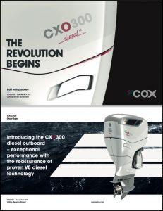Cox CXO300 diesel outboard Brochure
