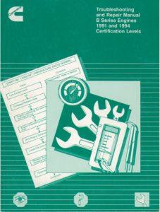 Cummins B Series diesel engine Repair Manual
