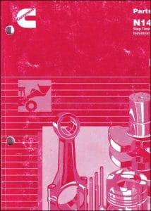 Cummins N14 Diesel Engine Parts Catalog