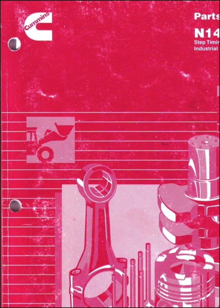 Cummins N14 Diesel Engine Parts Catalog - MARINE DIESEL BASICS