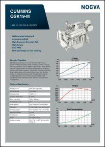 Cummins QSK19-M diesel engine Brochure