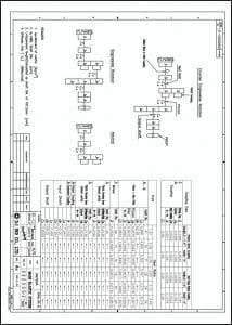 D-I Industrial DMT 90A marine transmission Diagram