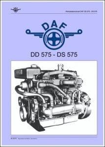DAF DD 575 Werkplaatinstructies Dutch