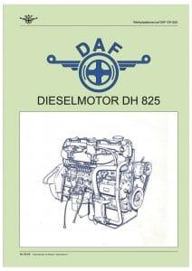 DAF DH825 Werkplaatshandboek in het Nederlands