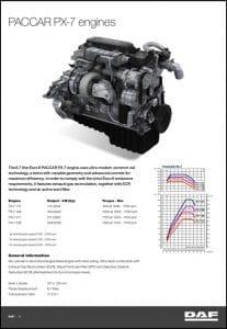 DAF PACCAR PX-7 diesel engine Guide
