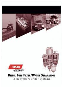 Dahl-Baldwin Fuel Filters Catalog 2009