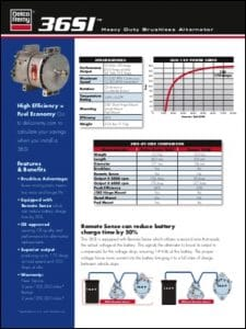 Delco 36SI Alternator Brochure