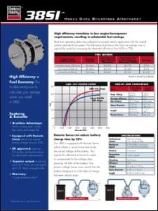 Delco 38SI Alternator Brochure