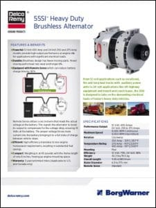 Delco 55SI Alternator Technical Brochure