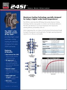 Delco Remy 24SI Alternator Brochure