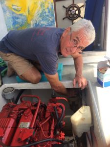 Dennison Berwic, creator of Marine Diesel Basics