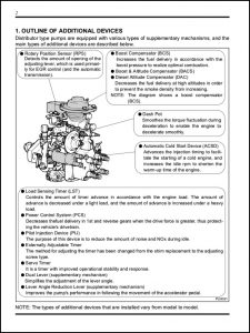 Denso diesel Injection Distributor Pumps Repair Guide