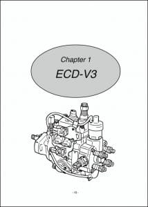 Denso ECD-V3 diesel Injection Pump Guide Chap1 only
