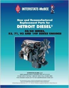 Detroit Diesel 50:60 Series diesel engine Replacement Parts Catalog