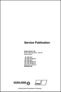 Detroit Diesel Series 183 diesel engine Service manual